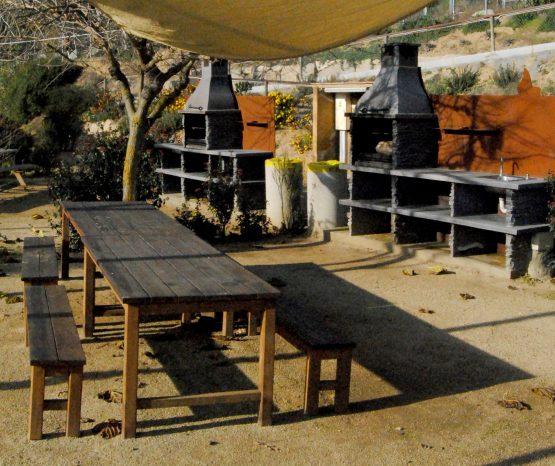 La Flama Canyamars – 12 espais individuals amb barbacoa per llogar